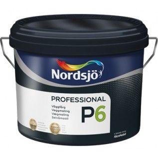 Износостойкая краска Sadolin Nordsjo Professional P6