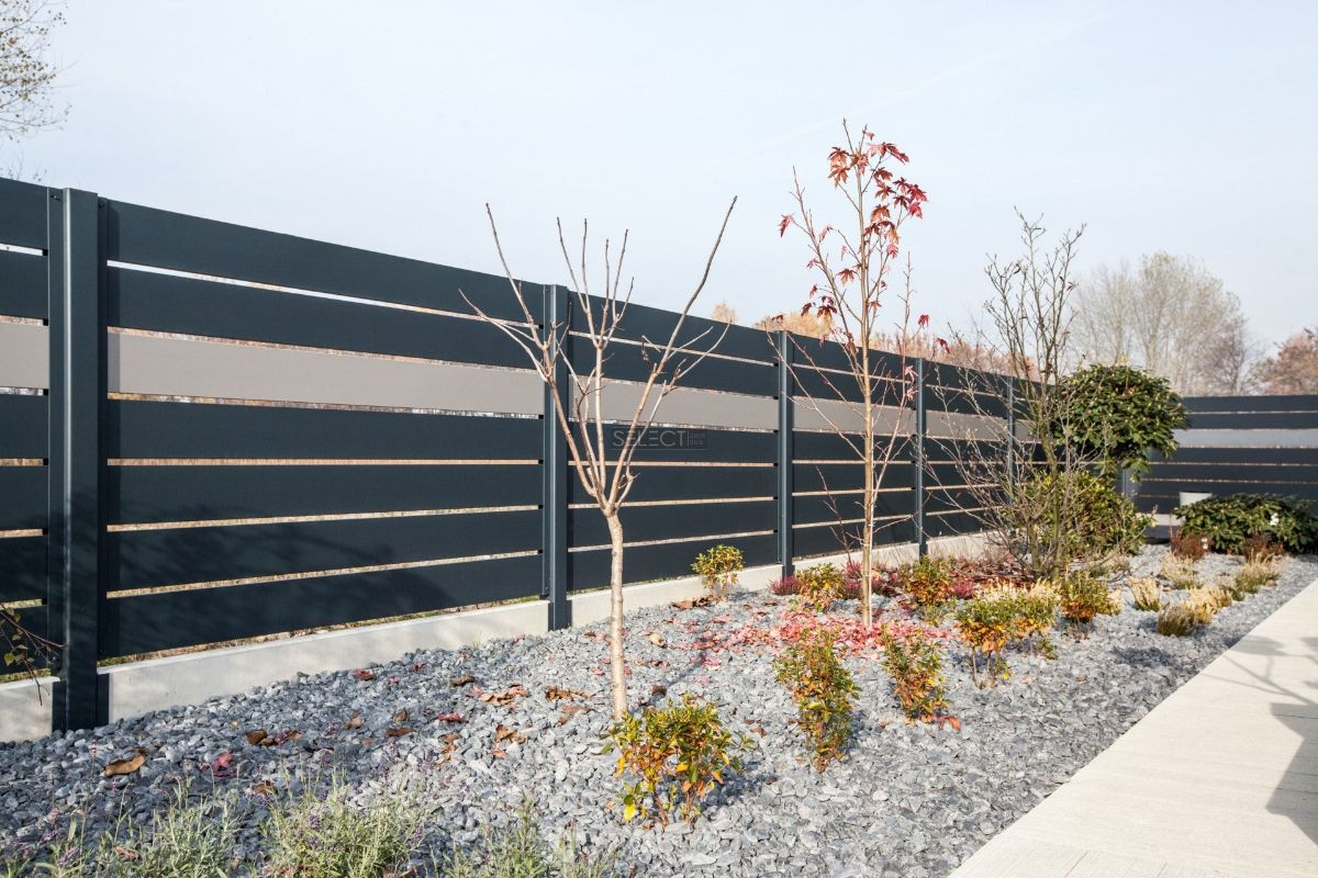 заборы в дизайне ранчо и жалюзи металлические ворота и заборы