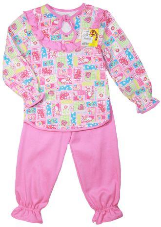 Пижама для девочки (Артикул 304-072) цвет розовый