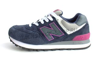 Кроссовки New Balance 574 Blue\Purple