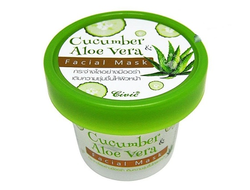 Коллагеновая маска с алоэ вера и огурцом (100 гр)Civic Cucumber Aloe Vera Facial Mask,Таиланд