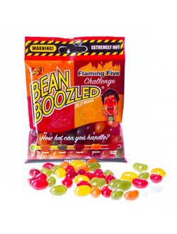 Острые бобы Bean Boozled Flaming Five! - Жгучая пятёрка