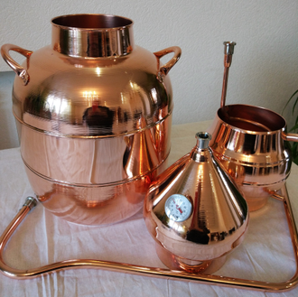 Аламбик 20л- 30л Россия All-Copper арт.1185