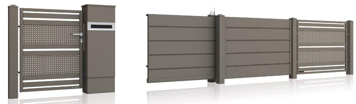 Размеры и дизайн въездных ворот для дома - установка Одесса