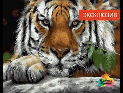 Картина по номерам GX 23092 Пронзительный взгляд 40*50