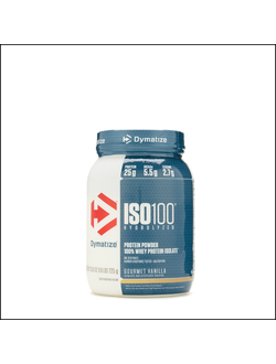Протеин dymatize nutrition iso 100 hydrolyzed 726g