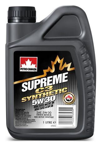 Масло моторное PETRO-CANADA SUPREME C3 SYNTHETIC 5W-30 1л