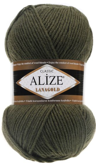 Alize Lanagold classic 29 хаки