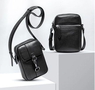 Кожаная сумка Xiaomi VLLICON men's crossbody shoulder bag tide bag