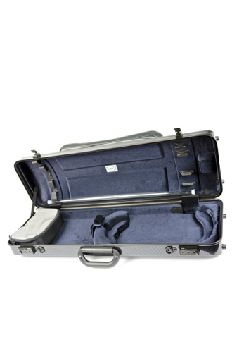HIGHTECH OBLONG VIOLIN CASE WITH POCKET