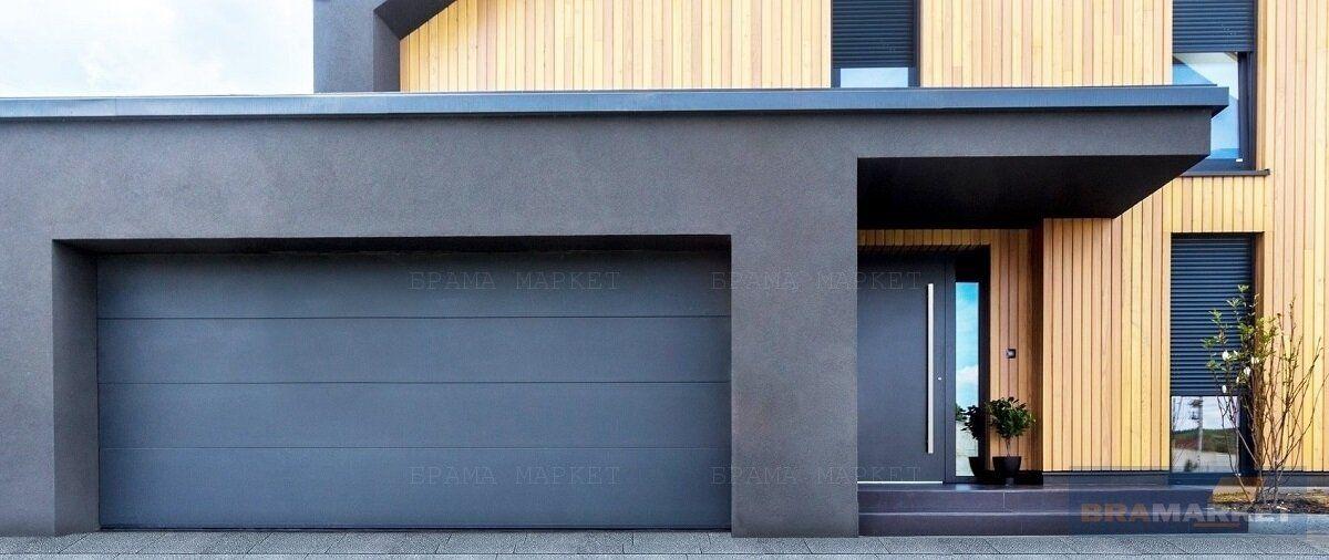 сучасні ворота на гараж - ролетні гаражні ворота