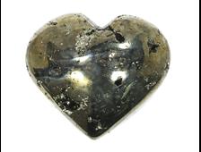 Сердце Пирит, Перу (60*55*28 мм, 220 г) №15941