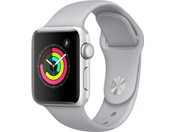 APPLE WATCH SERIES 3 38MM SILVER ALUMINIUM WITH FOG SPORT BAND