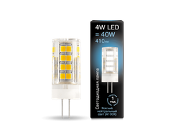 Gauss LED T10 4w 840 AC185-265v G4
