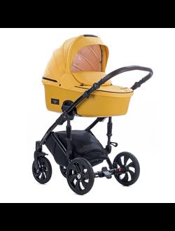 Универсальная коляска Tutis Zippy Viva Life (2 в 1) Цвет Пастельно-желтый/Кожа Шафрановый