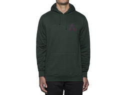 Толстовка HUF DISASTER OPS TRIANGLE ZIP HOODIE EMERALD EMRLD