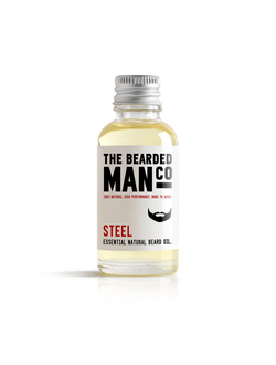 Масло для бороды The Bearded Man Company, Steel (Сталь), 30 мл