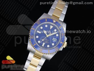 Submariner 116613 LB Blue Ceramic ARF 11 Best Edition 904L SS Case and Bracelet SH3135 V3