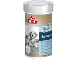 Добавка в корм 8 In 1 Excel Brewer's Yeast для кошек  260 штук