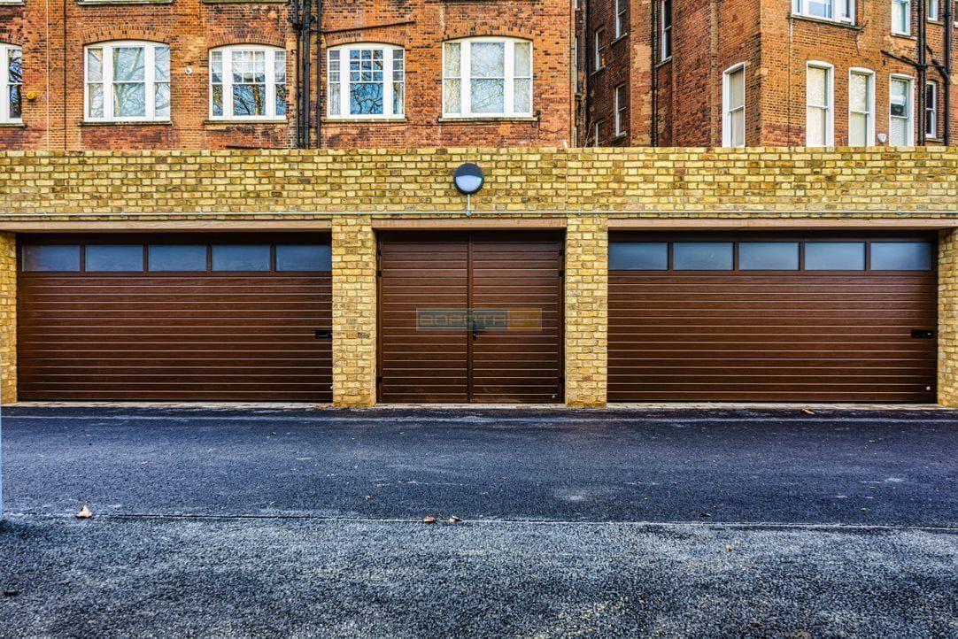 автоматические гаражные ворота - установка - гарантия - киев
