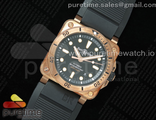 BR 03-92 Diver Real Bronze