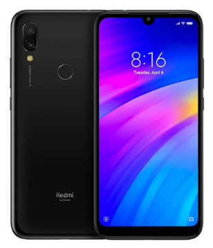 Смартфон Xiaomi Redmi 7 2/16 Черный Global Version