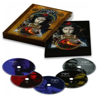 MOONSPELL Lisboa under the spell - Blu-Ray + DVD + 3-CD