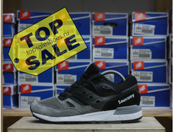 Saucony Grid Grey\Black (размер 40.5)