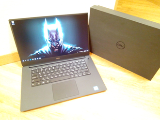 НОВЫЙ DELL XPS 15 9570 ( 15.6 FHD IPS i7-8750H GTX1050TI(4Gb) 16Gb 256SSD )