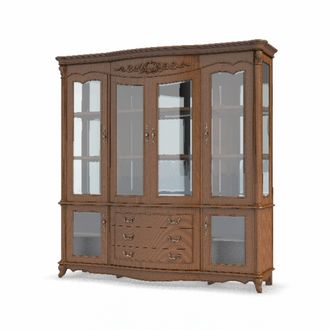 шкафы Буфет Carpenter Wine cabinet 4d 2130x570x2150