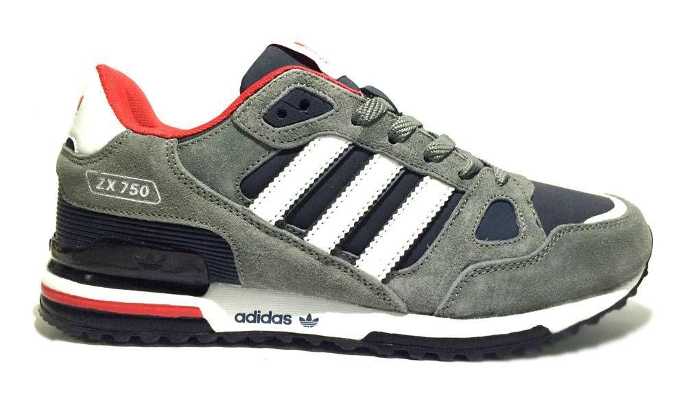 7226df63 Купить кроссовки ADIDAS ZX 750 серые в наличии в интернет-магазине  Blackshop59 в Перми. Выгодно и удобно купить кроссовки ADIDAS ZX 750 (Адидас  зикс 750) вы ...