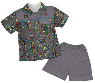 Комплект для мальчика (Артикул 2107-013) цвет серый