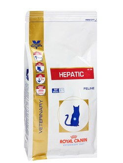 ROYAL CANIN  HEPATIC HF26   /  РОЯЛ КАНИН  Полнорационная ветеринарная диета для кошек при болезнях печени