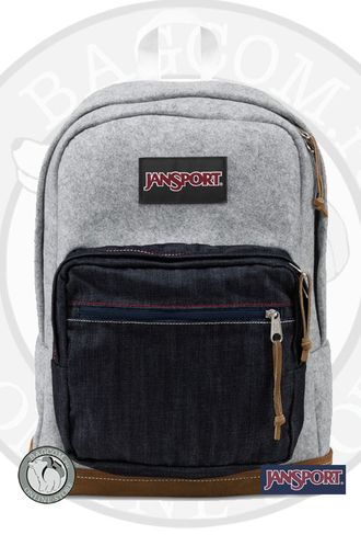 Jansport Right Pack Expressions Grey Varsity Felt