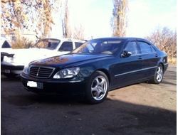 Mercedes Benz S-klasse (W220) Long 1998-2005 дефлекторы окон