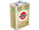 MJ-M11. MITASU MOLY-TRiMER SM/CF 5W-30 100% Synthetic