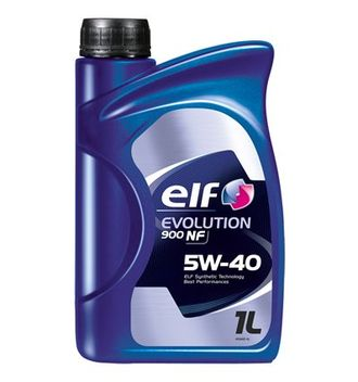 Масло моторное ELF Evolution 900 NF 5W-40 1л 194875