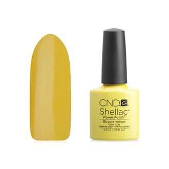 Гель-лак Shellac CND Bicycle Yellow №90513