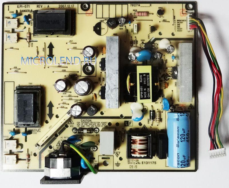 LG - SMPS inverter 4L ILPI-71 EBU49009001