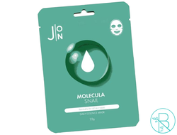 Маска тканевая J:ON Molecula Snail Daily Essence Mask с улиточным муцином