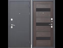 Дверь ТРОЯ 3К Темный кипарис100 мм