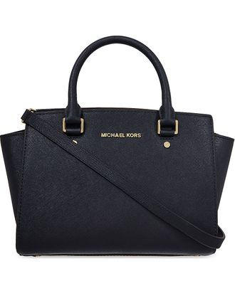 Сумка Michael Kors Selma Medium Black / Чёрная
