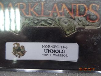 Unnolg, Great Axe Troll Warrior