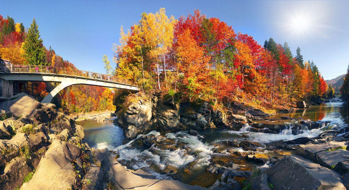 Відпочинок в Карпатах восени - якісний і недорогий осінній відпочинок в  горах.