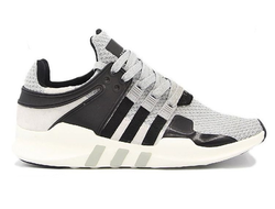 Adidas EQT Support ADV Gray/Black/White серо-черно-белые