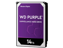 ЖЕСТКИЙ ДИСК HDD 14TB WESTERN DIGITAL PURPLE SATA 6GB/S 7200RPM
