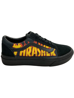 Кеды vans old skool Thrasher черные