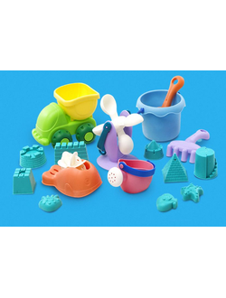 Игрушка Xiaomi для песочницы BESTKIDS Toys Set of 16