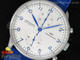 Portuguese 40mm Chrono SS Blue