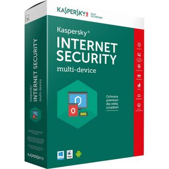 Антивирус Kaspersky Internet Security 2 устройства